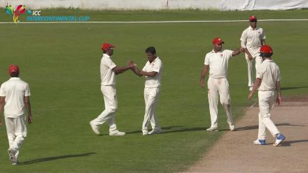 Ehsan Khan's five wickets