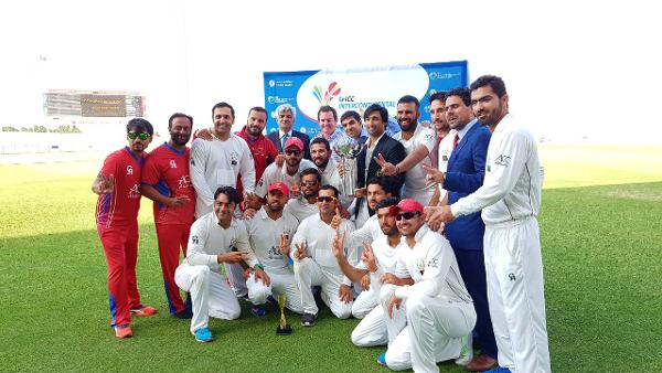 Afghanistan win the ICC Intercontinental Cup