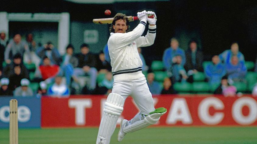 Ian Botham had a decent match, but England still lost in a simulated rendering of an actual Test between India and England.