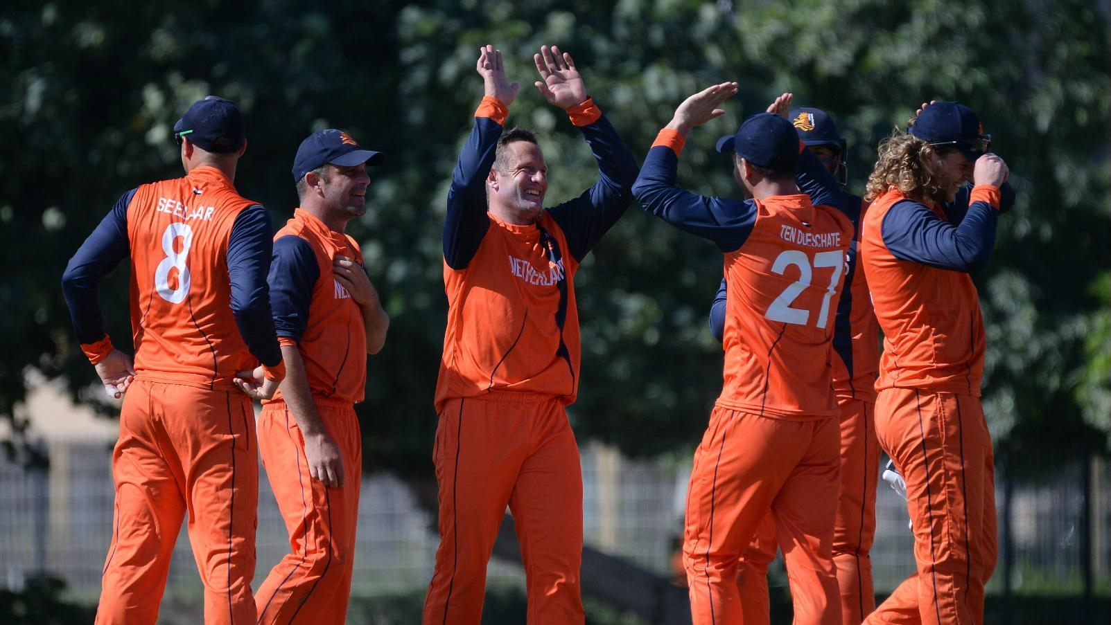 The Netherlands win the ICC World Cricket League Championship