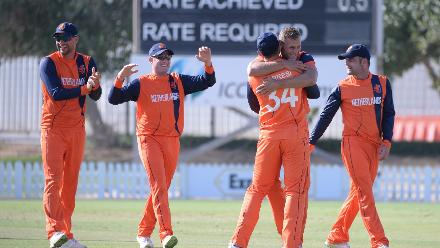 The victory also ensured Netherlands the 13th spot in the One-Day International League.