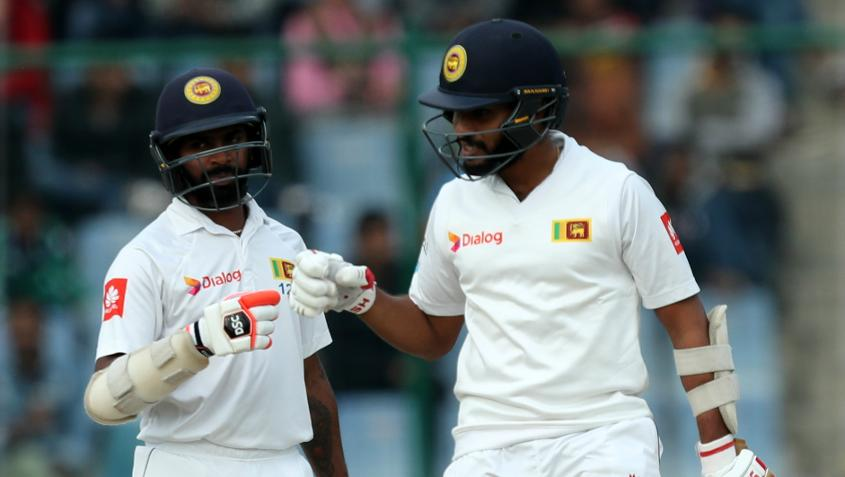 Roshen Silva and Niroshan Dickwella carried on the good work to guide Sri Lanka to safety.
