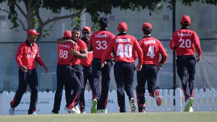 A combined effort from its batsmen and bowlers gave Hong Kong a hard-fought 23-run victory.