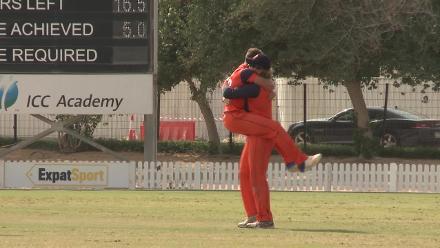 Netherlands v Namibia - Vivian Kingma's brilliant hat-trick