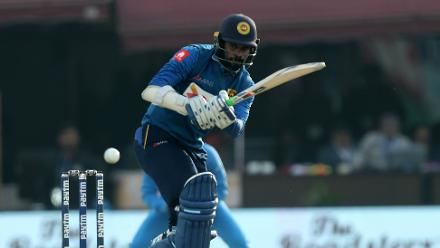 After being down to 19 for 2, Upul Tharanga's 49 helped Sri Lanka wrest the initiative back