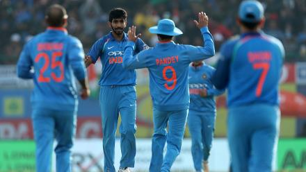 Early strikes by Jasprit Bumrah and Bhuvneshwar Kumar briefly lifted Indian hopes