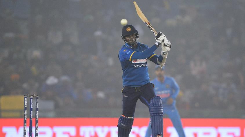 Angelo Mathews smacked 111 in 132 deliveries, his second ODI century, but found little support from the other end.