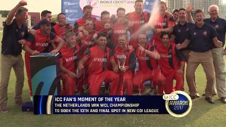The Netherlands win World Cricket League Championship to book the 13th and final spot in new ODI league