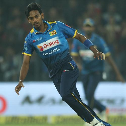 Dushmantha Chameera broke the massive opening partnership with the wicket of Rohit.
