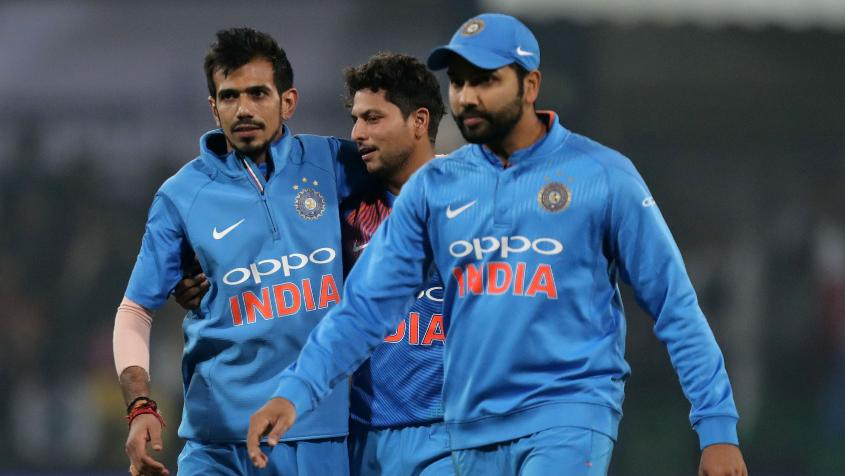 Kuldeep Yadav took all his three wickets in one over and derailed the chase while Yuzvendra Chahal finished with four scalps as the duo bowled out Sri Lanka for 172, sealing the series win by 88 runs.