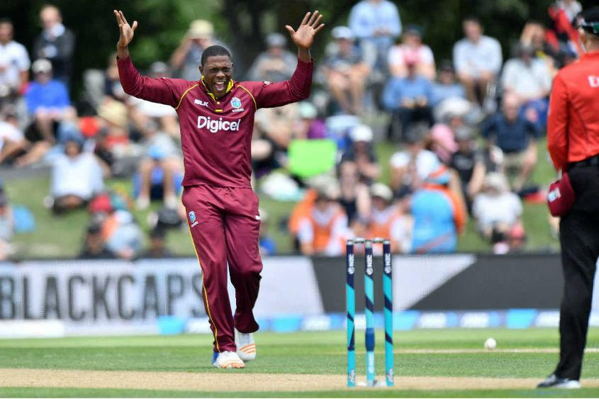 For Windies, Sheldon Cottrell took 3 for 62.