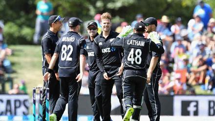 New Zealand v West Indies, 2nd ODI, Christchurch