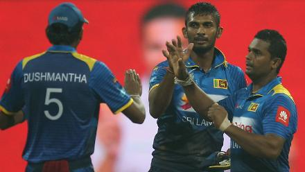 Shanaka also picked up two for 27 in four overs.