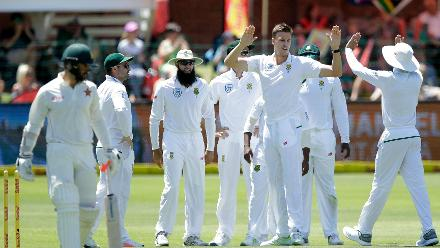 Morne Morkel, taking 5 for 21, made quick work of Zimbabwe as the latter were bowled out for 68 and asked to follow on.