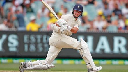 Stuart Broad scored his 11th half-century to support his former captain and stitched up a valuable 100 runs for the ninth wicket as England ended the day with a lead of 164.