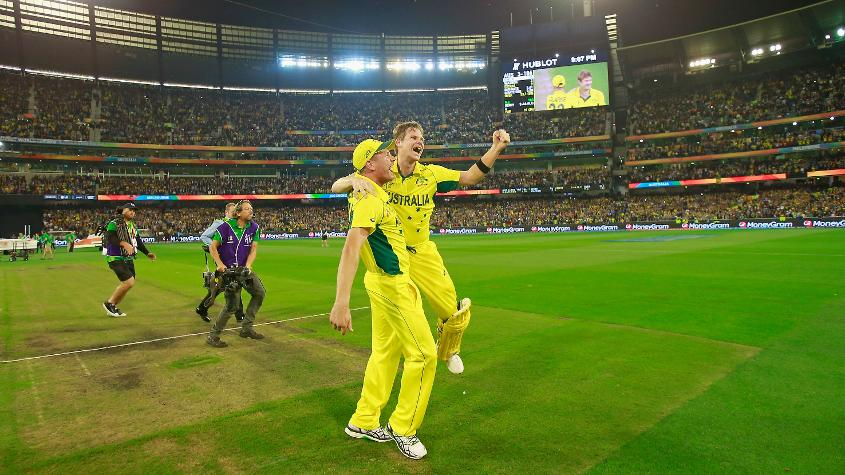 The defending champions Australia are ranked third in the ODI Team rankings.