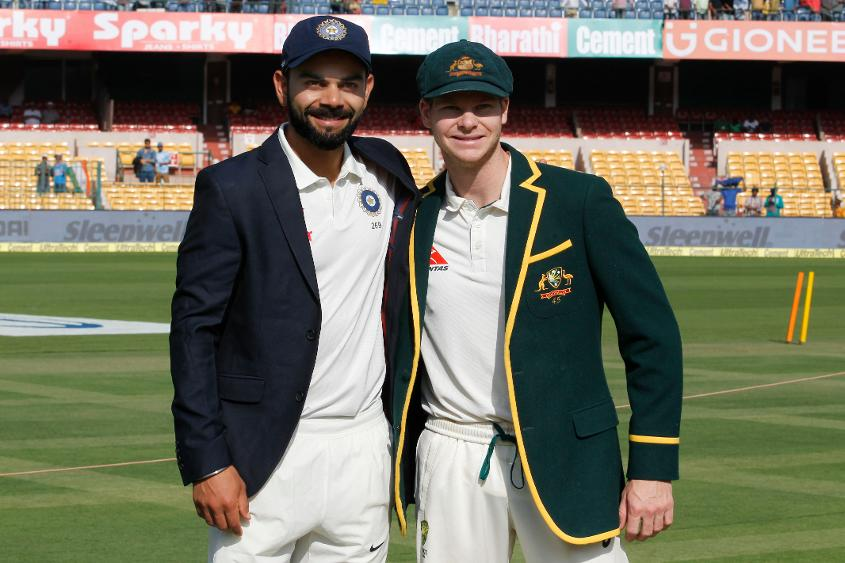 Virat Kohli displaced Steve Smith as No.1-ranked Test batsman
