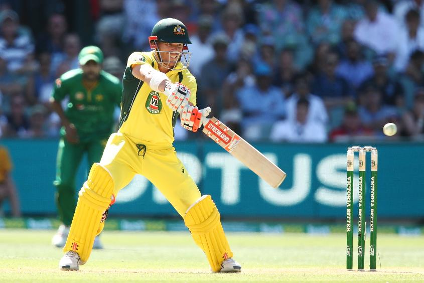 David Warner has the chance to go top of the batting rankings