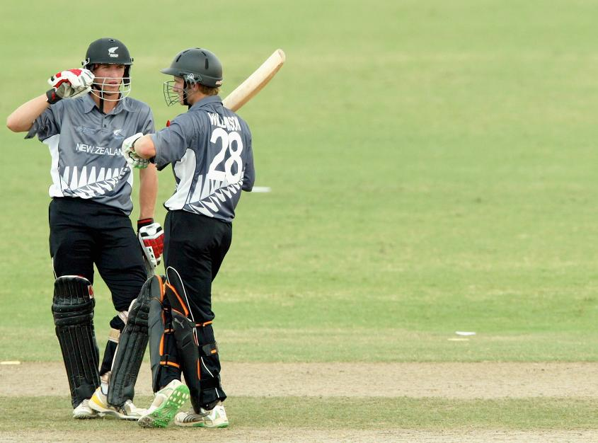 Kane Williamson (pictured right) had a steady tournament for the Kiwis
