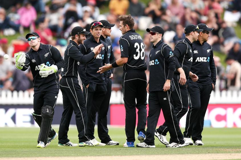 Tim Southee's three-wicket opening spell set New Zealand on their way.