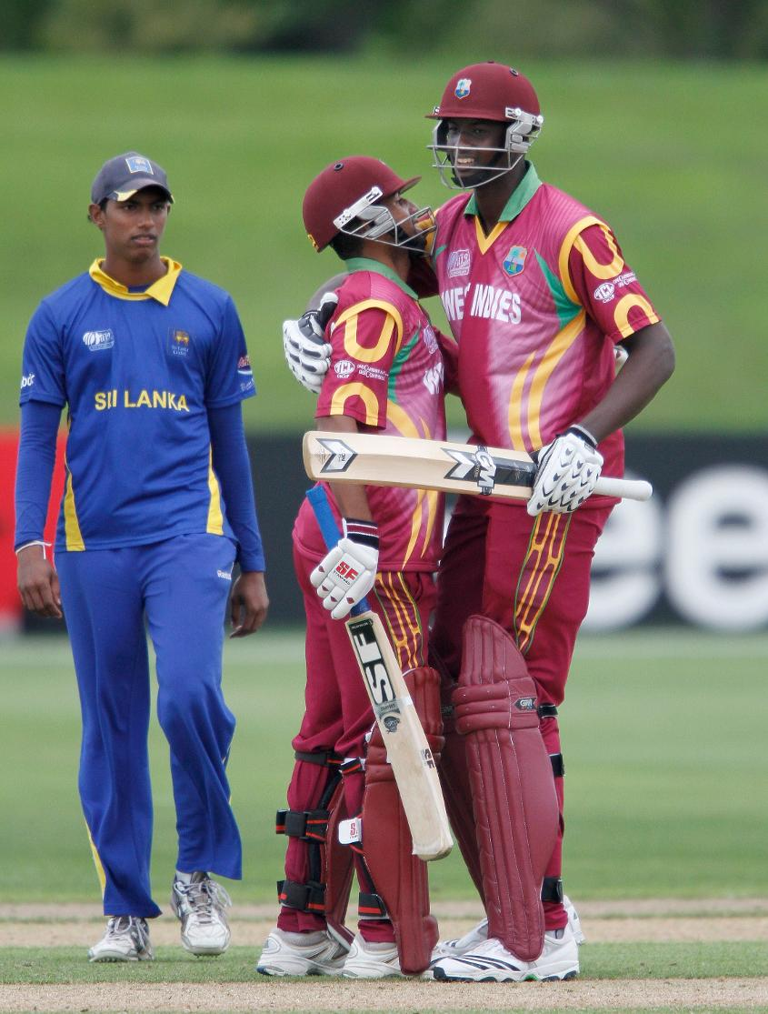 Jason Holder was part of the side who beat Sri Lanka to claim third place at the 2010 Under 19 World Cup