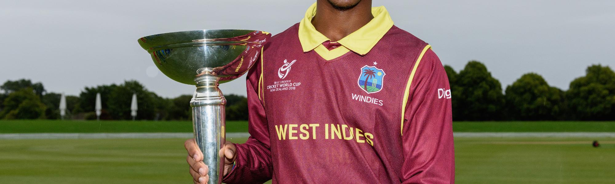 West Indies Under 19s - Emmanuel Stewart