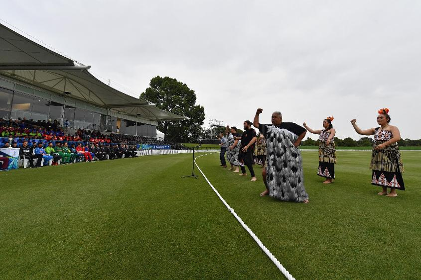 The squads, officials and other spectators present at the event enjoyed the short opening programme, the highlight of which were traditional Maori dances.