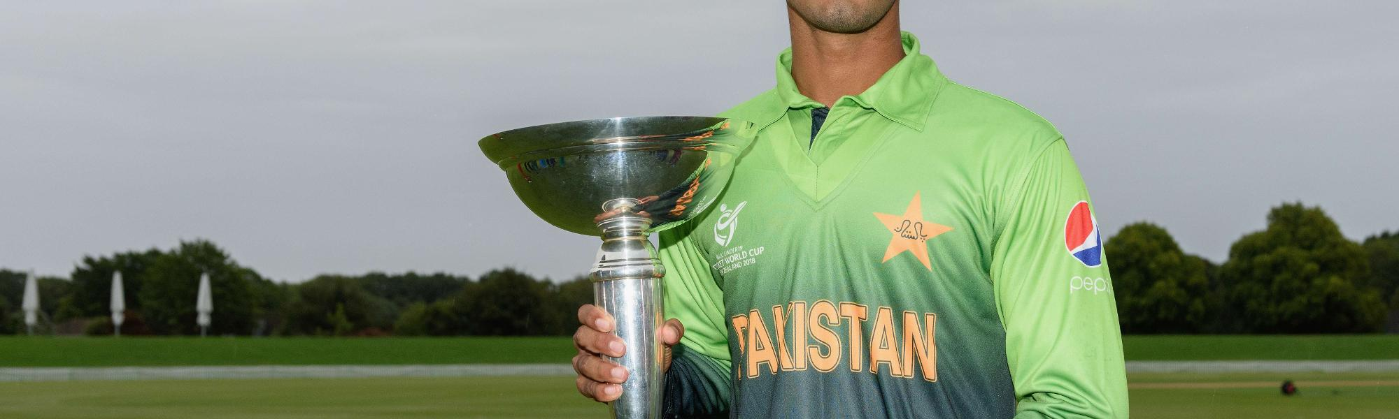 Pakistan U19s - Hasan Khan