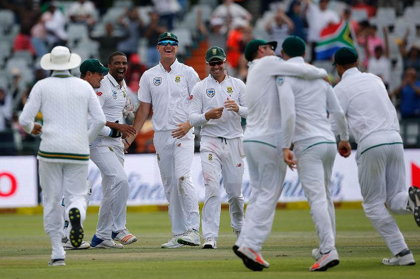 South Africa go 1-0 up in the series