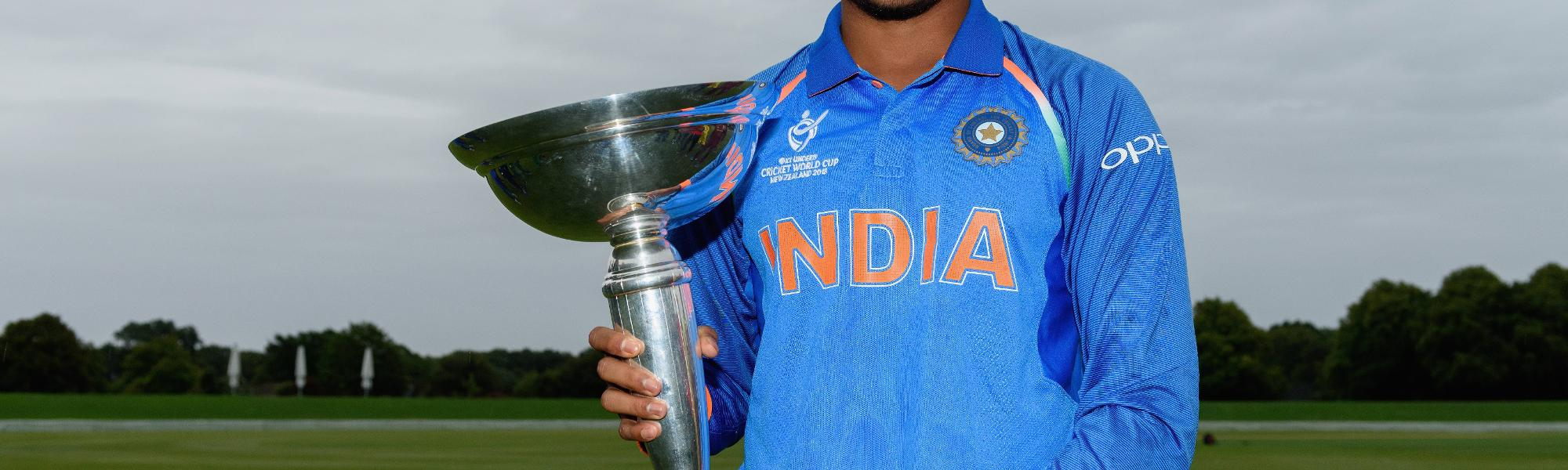 India U19s - Prithvi Shaw