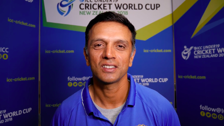 Rahul Dravid's message for India U19 and fans
