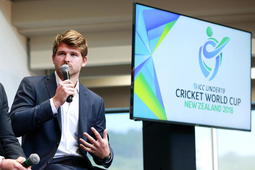 Corey Anderson at the 2018 ICC U19 CWC