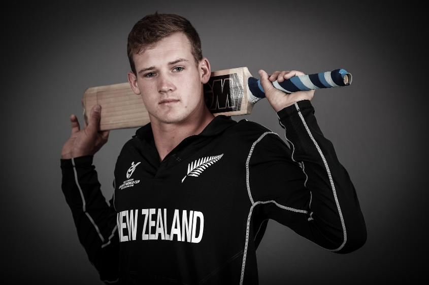 Kaylum Boshier displayed all the qualities that made him New Zealand captain in the warm-up match against Zimbabwe.