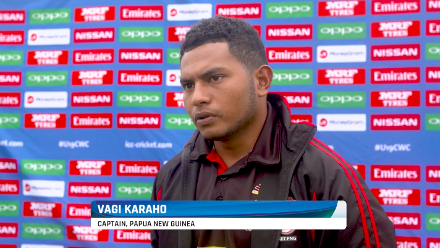 Vagi Karaho speaks ahead of Zimbabwe match