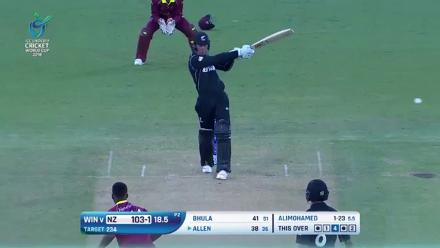New Zealand super shots in their victory against West Indies at U19CWC