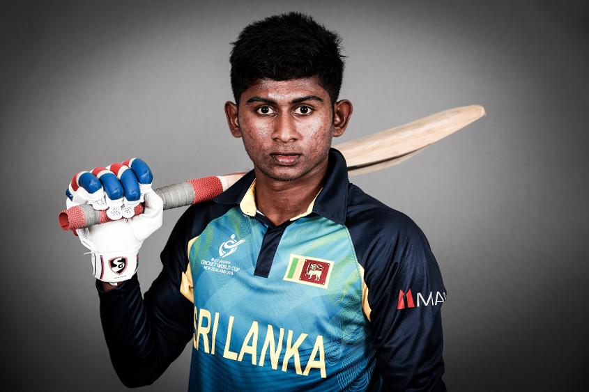 Ambidextrous spinner Kamindu Mendis is also handy with the bat