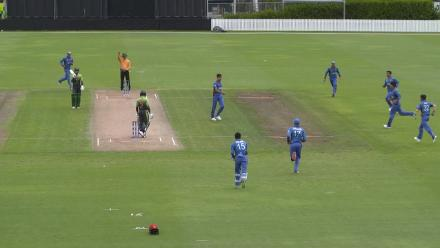 Fantastic diving catch from Ikram Ali Khil to dismiss Ammad Alam