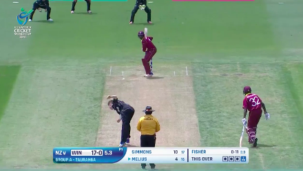U19CWC POTD: Melius hits the first six of NZvWI
