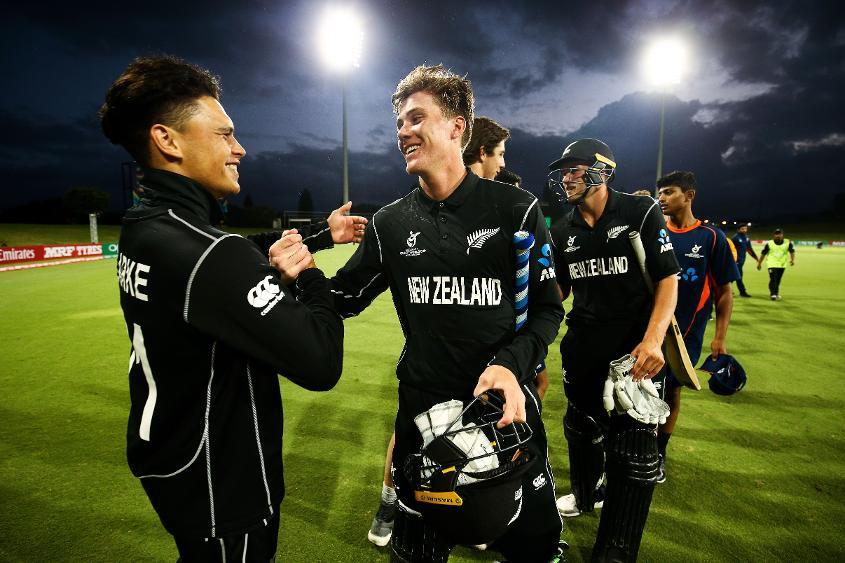 New Zealand U19s overcame West Indies U19s