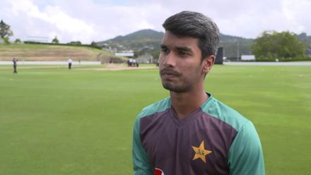 Pakistan captain Hassan Khan talks ahead of their U19CWC clash with Afghanistan