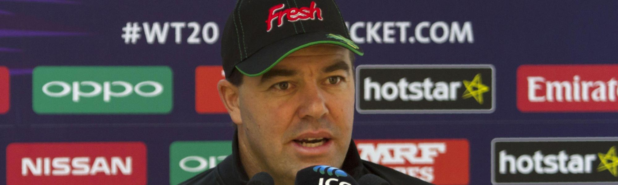Zimbabwe head coach Heath Streak