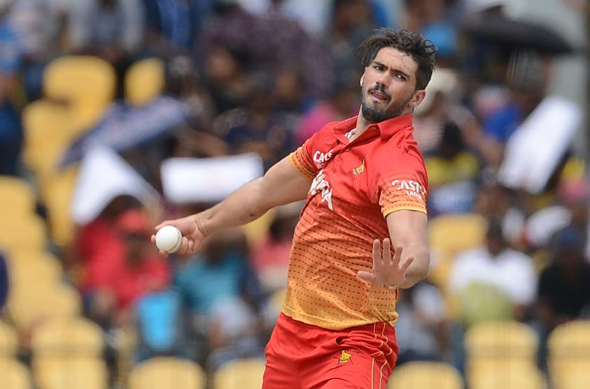 Graeme Cremer captained Zimbabwe to a 3-2 series win over Sri Lanka in July