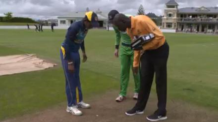 TOSS: Sri Lanka U19s v Ireland U19s