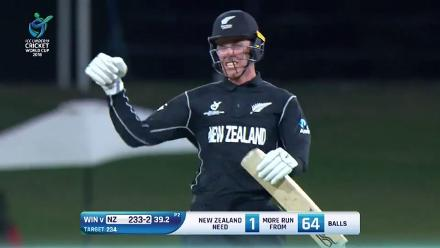 Match Highlights: New Zealand v West Indies at U19CWC