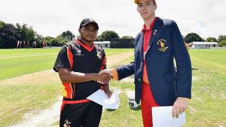 Zimbabwe send PNG in to bat after winning the toss
