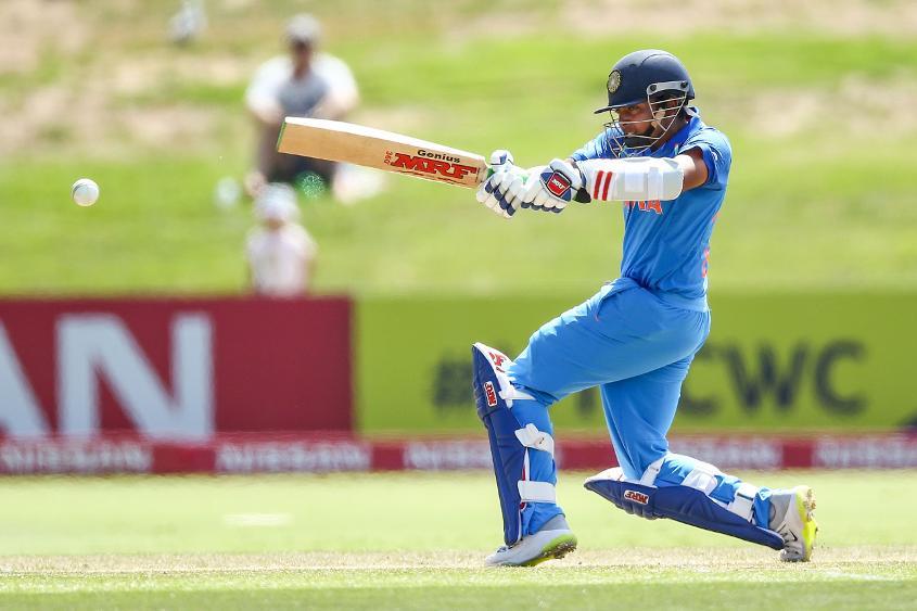 Indian captain Prithvi Shaw