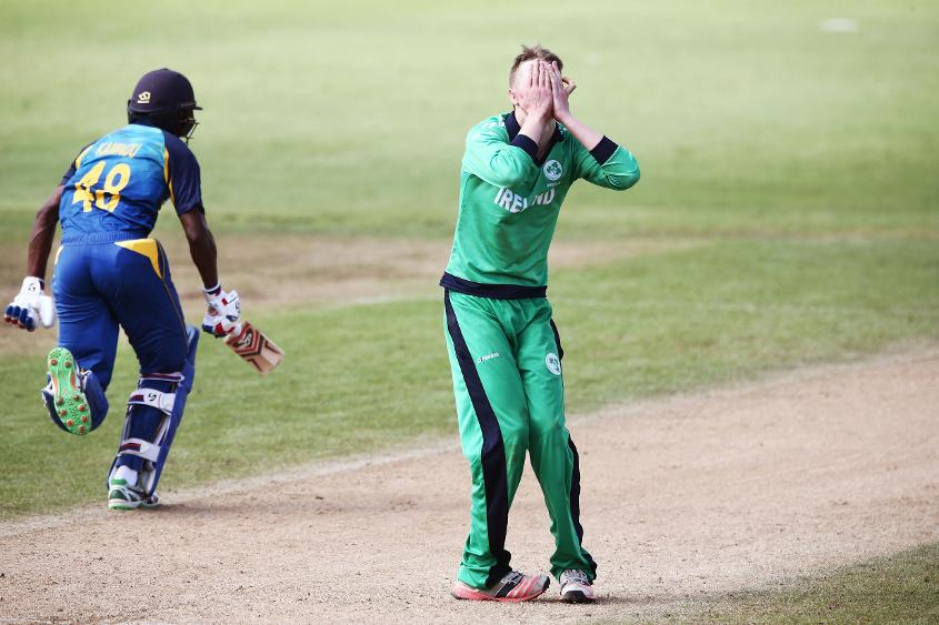 Kamindu Mendis and Dhananjaya Lakshan put on an unbroken 157-run stand to see off Ireland.