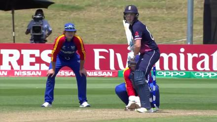 U19CWC POTD - Brook smashes it over the covers