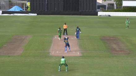 Lakshan hits 101 not out in 7 wicket win over Ireland