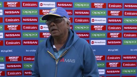 Pre-game: A word from Sri Lanka head coach, Roy Dias